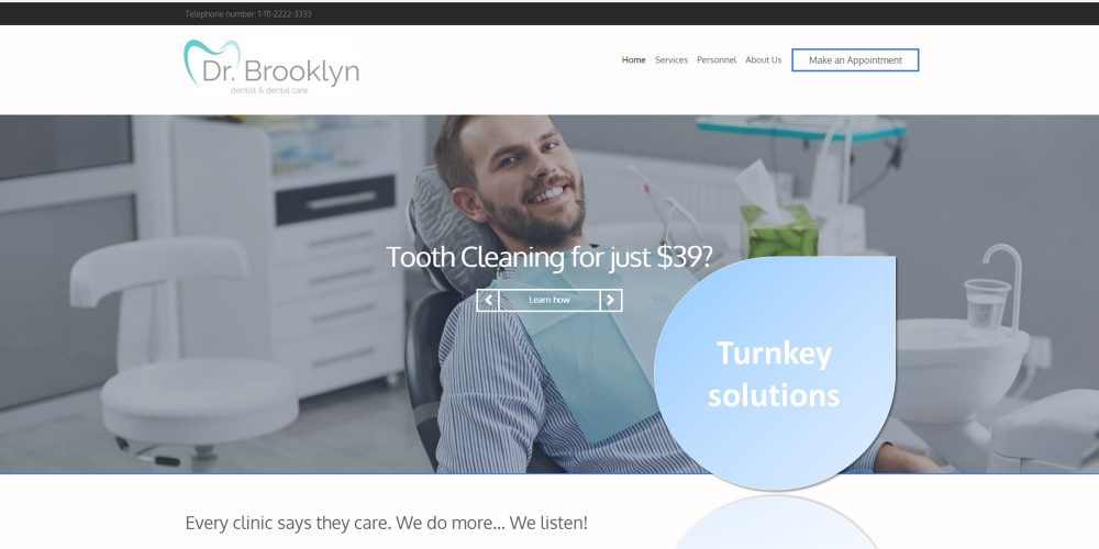 Turnkey solutions